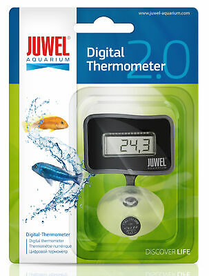 JUWEL AQUARIUM DIGITAL THERMOMETER SUBMERSIBLE SUCKER FISH TANK for RIO VISION
