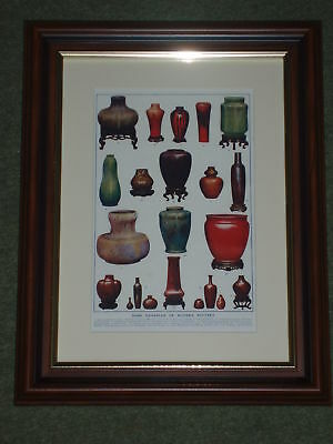 Print over 100 years old Examples of Modern Pottery