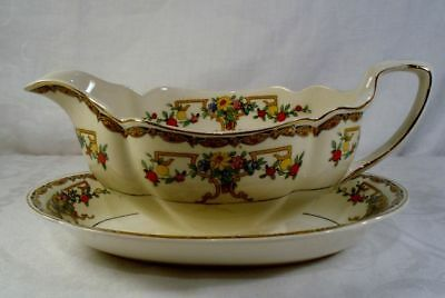 Johnson Brothers Riviera Gravy Boat with Underplate
