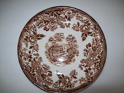 Royal Staffordshire Tonquin Meakin Brown Coffee Saucer