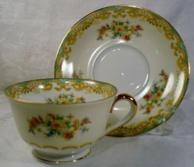 Noritake Mystery 160 Cup and Saucer