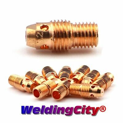 "10-pk TIG Welding Collet Body 13N28 3/32"" Torch 9/20/25 