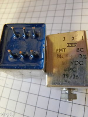36Mfd 10% 63Vdc Itt Capacitor 1Pc