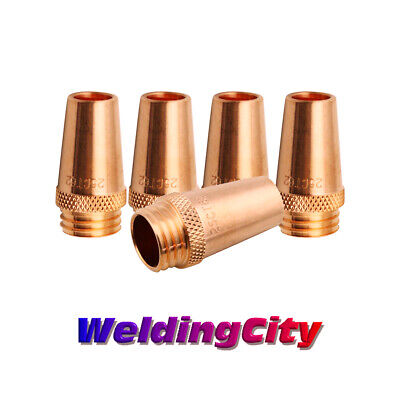 WeldingCity 2 Gas Nozzles 24A-37 3//8 for Tweco #3//#4 or Lincoln Magnum 300-400A MIG Welding Guns