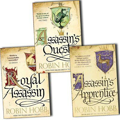 Robin Hobb The Farseer Trilogy Series Collection 3 Books Set Assassin's Quest