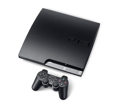 PLAYSTATION 3 (PS3) 120 GB SLIM CONSOLE & ACCESSORIES!