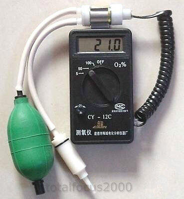 Brand New Oxygen Concentration Detector Tester Meter