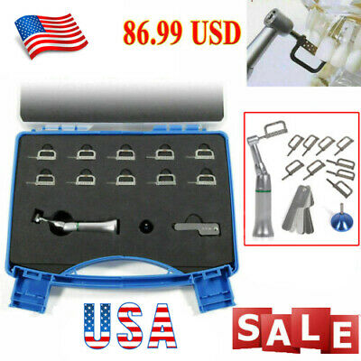 USA Dental Contra Angle Handpiece 4:1 Reduction IPR Interproximal Stripping Kits