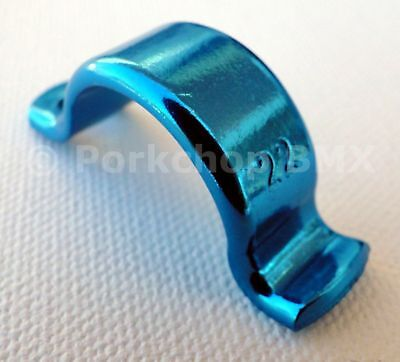 Dia-Compe Tech 2 3 4 6 MX122 Bicycle old school BMX Brake Lever Clamp - BLUE