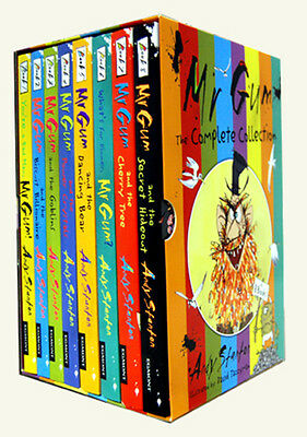 Mr Gum Collection 8 Books Box Set Collection By Andy Stanton New Paperback