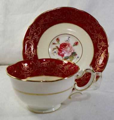 Royal Swansea Swansea Rose R139 Cup and Saucer