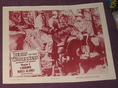 1955 PERILS of the WILDERNESS LOBBY CARD SERIAL