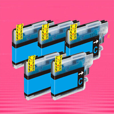 5P Lc61 Cyan Ink Cartridge For Brother Mfc 990Cw 790Cw
