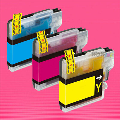 3P Lc61 Ink Cartridge For Brother Mfc 5490Cn 930Cnd