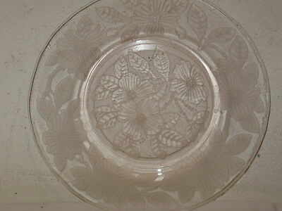Antique MacBeth Evans Pink Dogwood Luncheon Lunch Plate