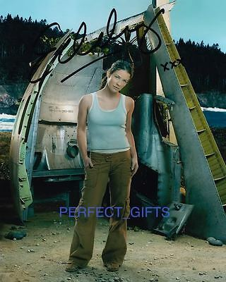 EVANGELINE LILLY SIGNED PP PHOTO kate austen lost hurt