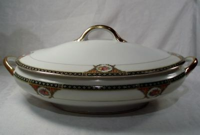 Noritake N1459 Oval Covered Vegetable Bowl