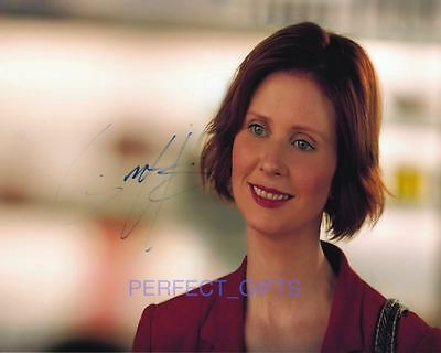 Cynthia Nixon Sex And The City Signed 10X8 Pp Photo