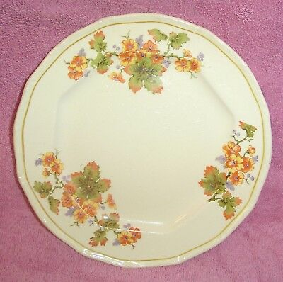 2 Taylor Smith Taylor Dessert Luncheon Plate Autumn Color