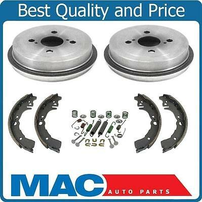 Fits For 2000-2005 Echo (2) Rear Brake Drums and Shoes & Brake Springs