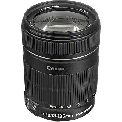 Canon EF-S 18-135mm IS Lens for 60D, 50D, 40D, and 7D