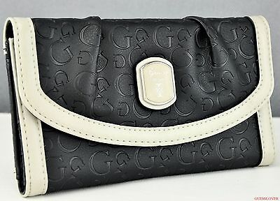 New Stylish 100% Original Wallet GUESS Cologne Black New Ladies