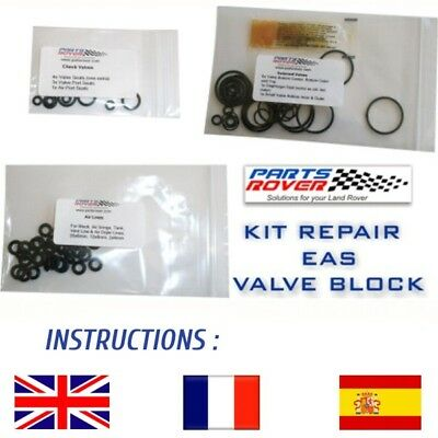 Range Rover P38 Eas Kit Repair Valve Block Rvh100030 Suspension Pneumatique