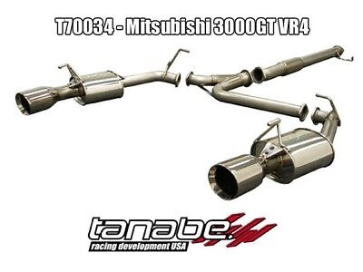 Tanabe Medalion Touring Exhaust 90-99 3000Gt Vr-4
