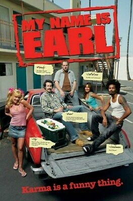 My Name Is Earl Poster - Funny Cast Group Shot - New