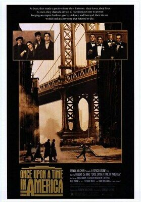 Once Upon A Time In America Movie Poster - Rare Print