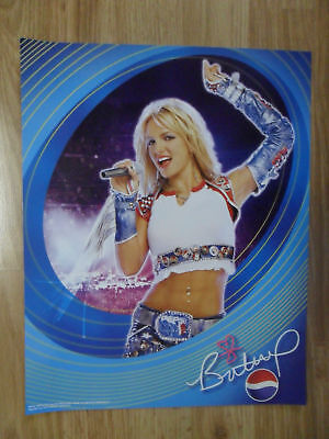 Britney Spears Pepsi Tour Music Poster