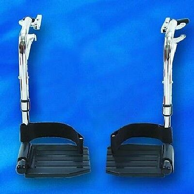 NEW Invacare INVT93HC Foot rests for Tracer and 9000 Wheelchair Aluminum