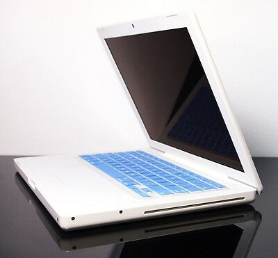 BLUE Silicone Keyboard Skin Cover for OLD Macbook 13""