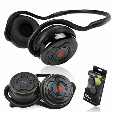 NEW Bluetooth 4.0 Sports Wireless Stereo Headphones/Headset With Microphone UK