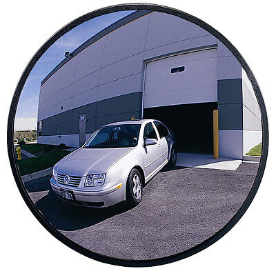 Outdoor Polycarbonate Convex Security Mirror Traffic Safety 18 inch NEW