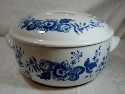 Royal Worcester Rhapsody Covered Round Casserole Dish