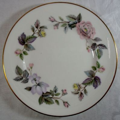 Royal Worcester June Garland Bread and Butter Plate
