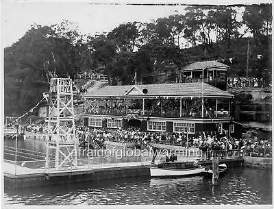 """Photo 1934 Roseville NSW """"Carnival by the Water"""""""