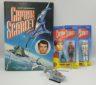 CAPTAIN SCARLET : Tattoo Book by CARLTON BOOKS