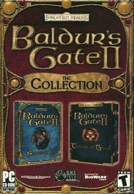 Baldurs Gate 2 & Throne of Bhaal The Collection PC NEW