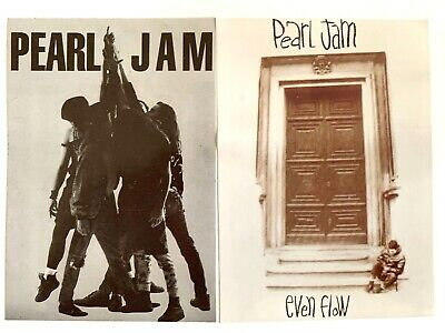 Rare Set Of 3 Pearl Jam Stickers Free Uk P&p