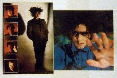 Set Of 2 Robert Smith The Cure Stickers Free Uk P&p