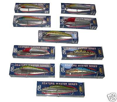 Stock 10 Artificiali Minnows Cm 7 / Cm 9 - Esca Mare Spinning / Traina