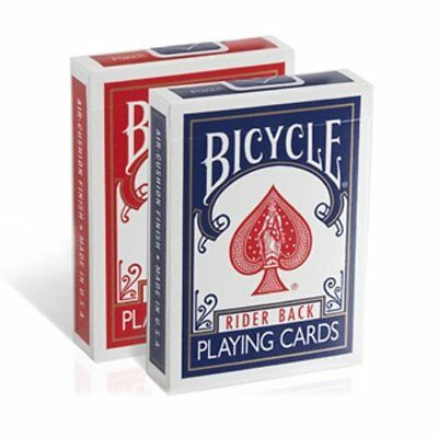 2 CLASSIC BOX RIDER BACK 808 Bicycle Poker Playing Cards Ohio Printed & Quality