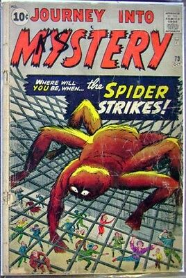 Journey Into Mystery 73 Vg Atlas Rare Reverse Spiderman