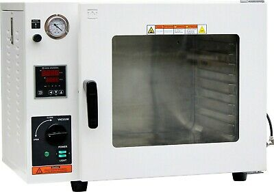 New Ai 5-Sided Pad Heating All St. St. Tubing 1.9 CF Vacuum Oven 2 Year Warranty
