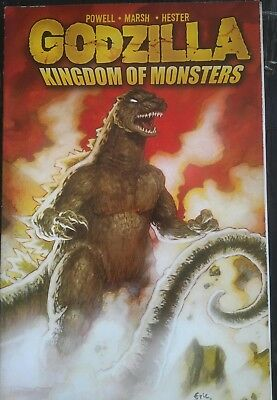 Godzilla Kingdom Ofmonsters #1B 2011