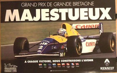 grand prix de monaco f1 affiche 1985. Black Bedroom Furniture Sets. Home Design Ideas