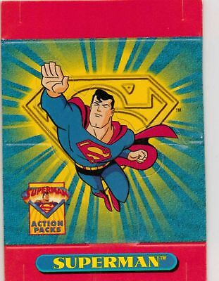 SKYBOX SUPERMAN ACTION PACKS PROMO P1
