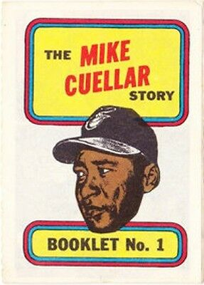 Topps Baseball Mini Comic Booklet 1970 1 Mike Cuellar